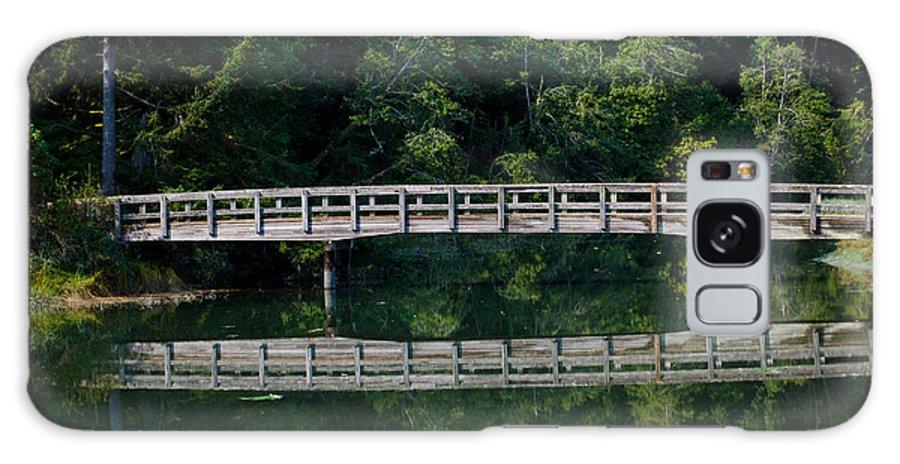 Bridge Galaxy S8 Case featuring the photograph Tolmie Bridge by Tikvah's Hope