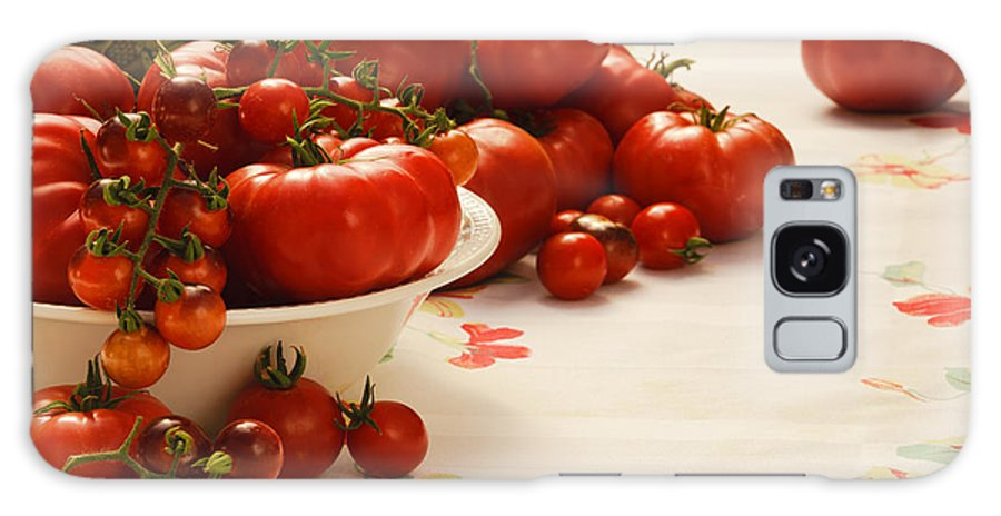 Garden Galaxy S8 Case featuring the photograph Tomatoes Tomatoes by K Powers Photography