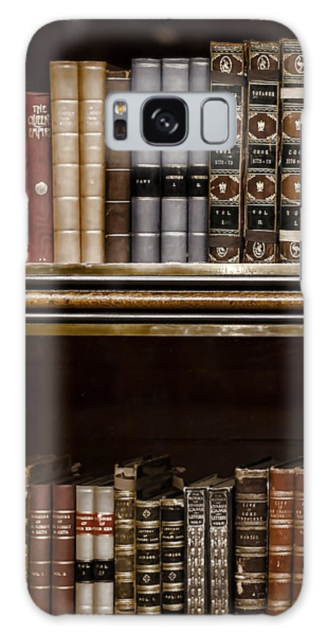 Book Galaxy S8 Case featuring the photograph Tomes by Heather Applegate