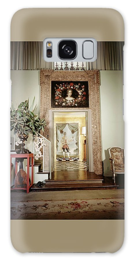 Antique Galaxy S8 Case featuring the photograph Tony Duquette's Entrance Hall by Shirley C. Burden