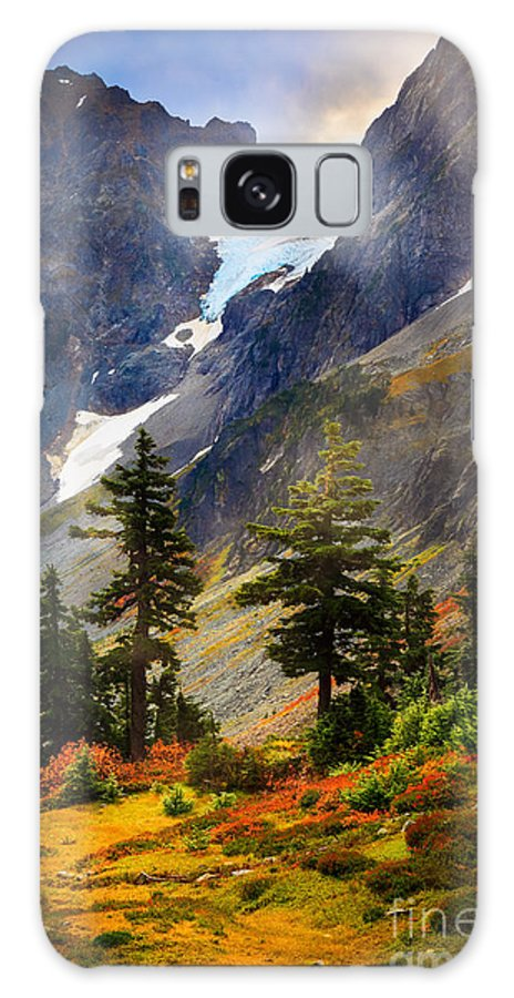 America Galaxy S8 Case featuring the photograph Top Of Cascade Pass by Inge Johnsson