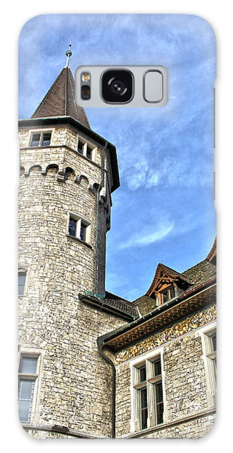 Switzerland Galaxy S8 Case featuring the photograph Tower Of History by Catherine Leis
