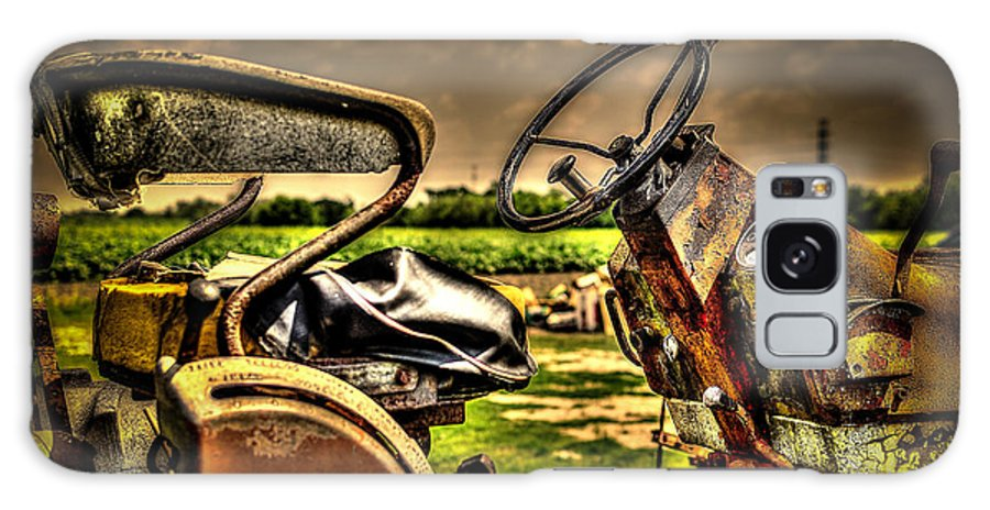 Tractor Galaxy S8 Case featuring the photograph Tractor Seat by David Morefield