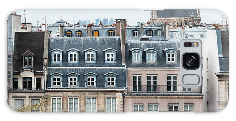 Built Structure Galaxy Case featuring the photograph Traditional Buildings In Paris by Mmac72