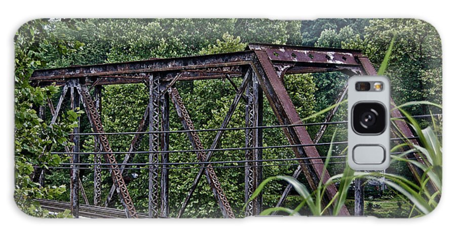 Brush Galaxy S8 Case featuring the photograph Train Trestle by Chauncy Holmes
