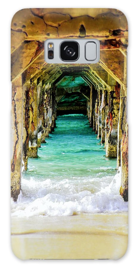 Waterscapes Galaxy Case featuring the photograph Tranquility Below by Karen Wiles