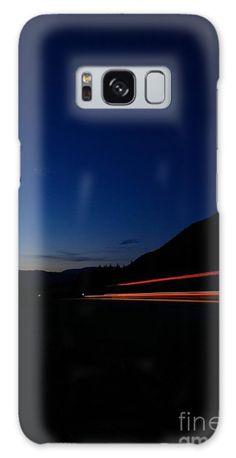 Phil Dionne Photography Galaxy S8 Case featuring the photograph Trans-canada Light Show I by Phil Dionne