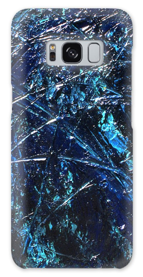 Abstract Galaxy S8 Case featuring the painting Transitions I by Dean Triolo