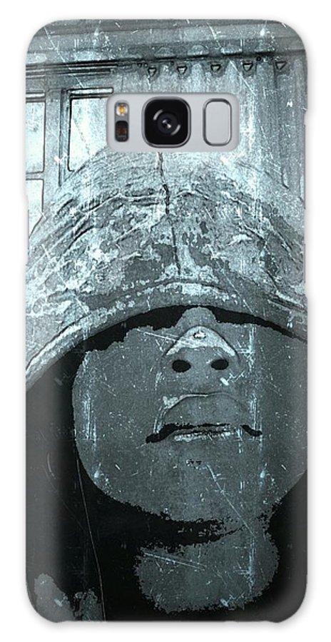 Trayvon Galaxy S8 Case featuring the digital art Trayvon by Chris Ye