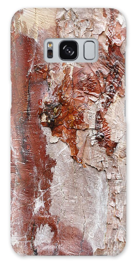 Background Galaxy S8 Case featuring the photograph Tree Bark by Paul Cowan