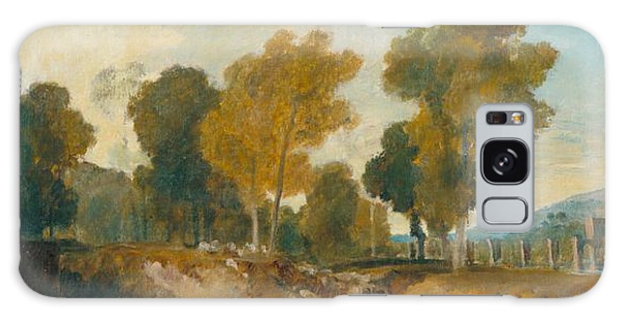 1806 Galaxy S8 Case featuring the painting Trees Beside The River by JMW Turner