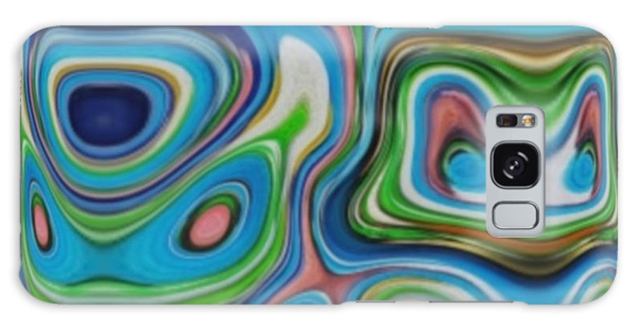 Galaxy S8 Case featuring the digital art Tripple Dip by Lady L's Designs