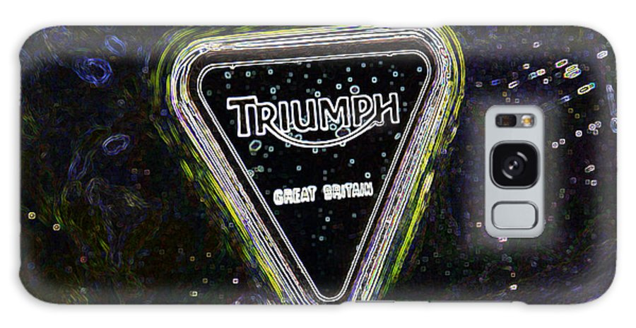 Triumph Galaxy S8 Case featuring the digital art Triumph 3 by Wendy Wilton