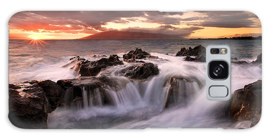 Hawaii Galaxy Case featuring the photograph Tropical Cauldron by Mike Dawson