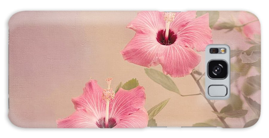 Pink Flower Galaxy S8 Case featuring the photograph Tropical Hibiscus by Kim Hojnacki