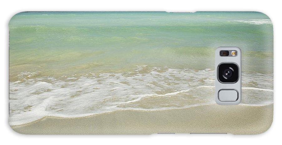 Hawaii Galaxy S8 Case featuring the photograph Tropical Ocean Beach by Charmian Vistaunet