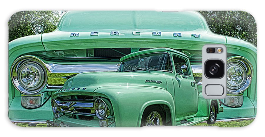 Trucks Galaxy S8 Case featuring the photograph Truck In Grill Hdr by Randy Harris