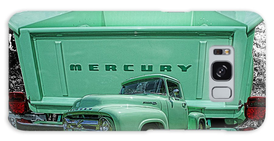 Trucks Galaxy S8 Case featuring the photograph Truck In Tailgate-hdr by Randy Harris