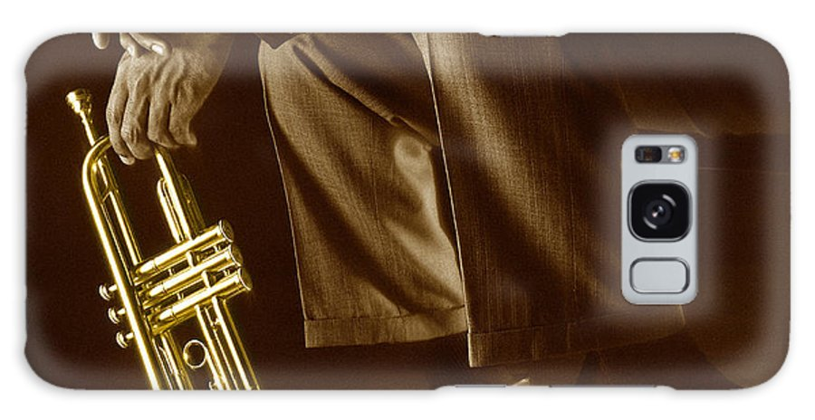 Trumpet Galaxy Case featuring the photograph Trumpet 2 by Tony Cordoza