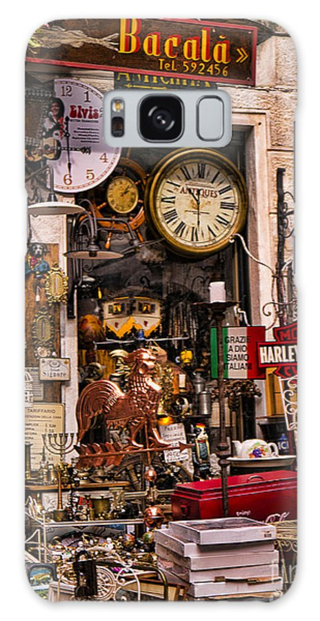 Malcesine Galaxy S8 Case featuring the photograph Try Taking One Of These Home by Brenda Kean