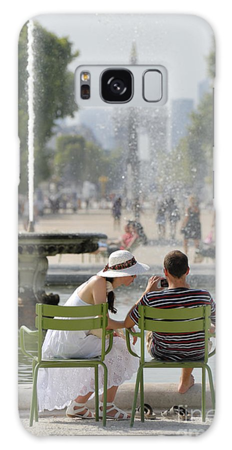 Europe Galaxy S8 Case featuring the photograph Tuileries 1 by Phil Robinson
