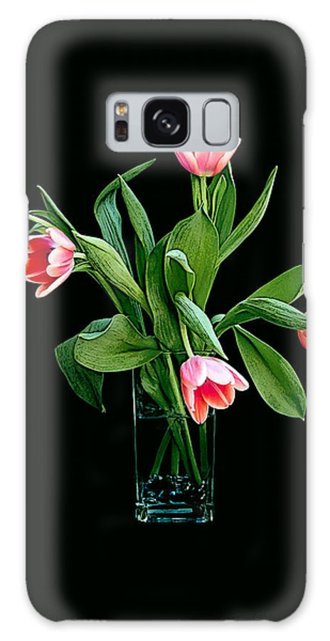 Tulips Galaxy S8 Case featuring the photograph Tulips by Billie-Maree Ward