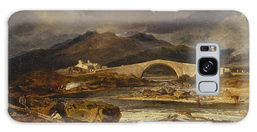 1802 Galaxy S8 Case featuring the painting Tummel Bridge by JMW Turner