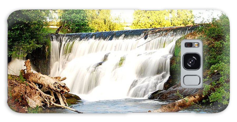 Tumwater Falls Galaxy S8 Case featuring the photograph Tumwater Falls by Joey Negron