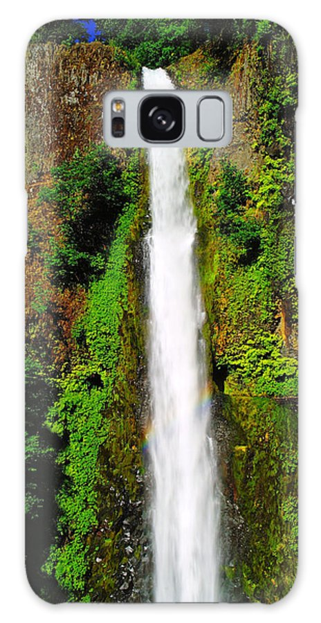 Water Galaxy S8 Case featuring the photograph Tunnel Falls  by Jeff Swan