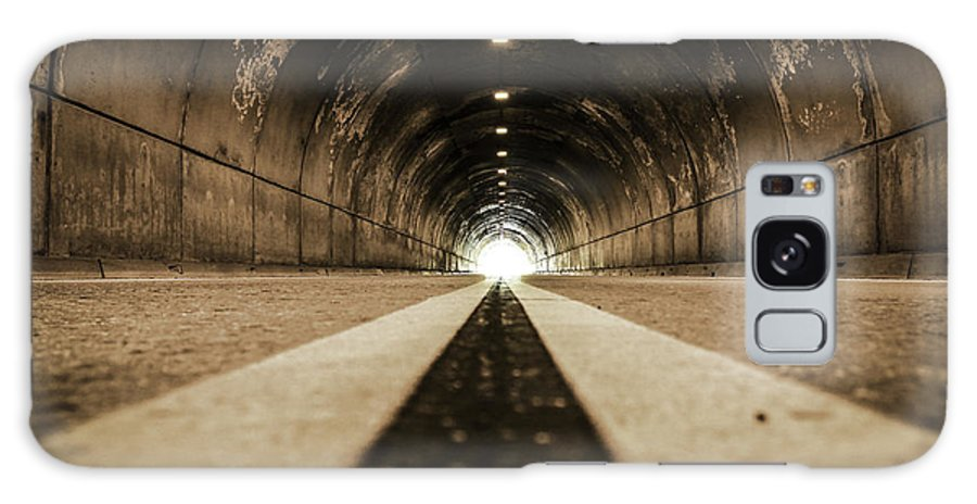 Tunnel Galaxy S8 Case featuring the photograph Tunnel by Philip Tolok