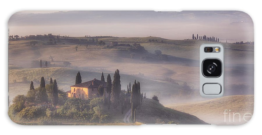 Michele Galaxy S8 Case featuring the photograph Tuscan Morning by Michele Steffey
