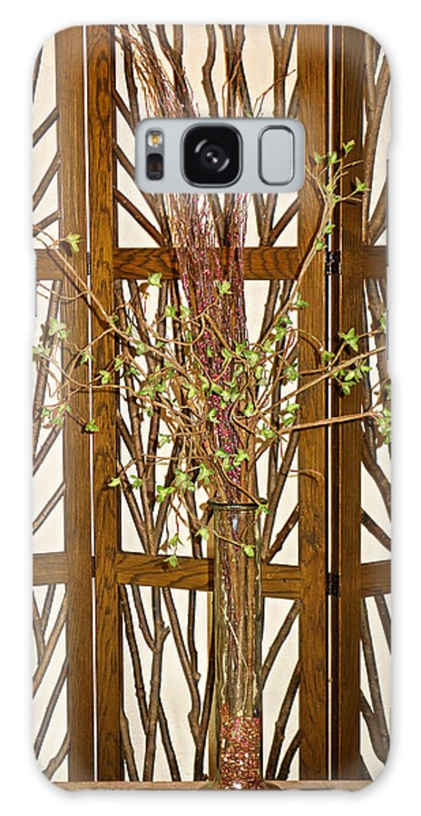 Twigs Galaxy S8 Case featuring the photograph Twigs On Twigs by Robert Meyers-Lussier
