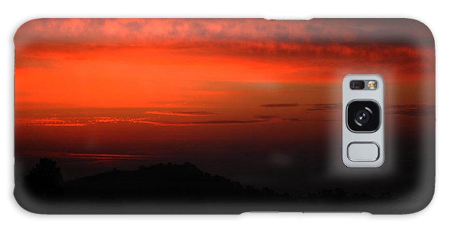 Twilight Galaxy S8 Case featuring the photograph Twilight- End Of The Day- Viator's Agonism by Vijinder Singh