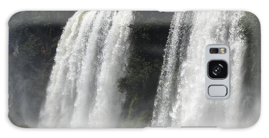 Waterfall Galaxy S8 Case featuring the photograph Twin Falls by Ginny Barklow