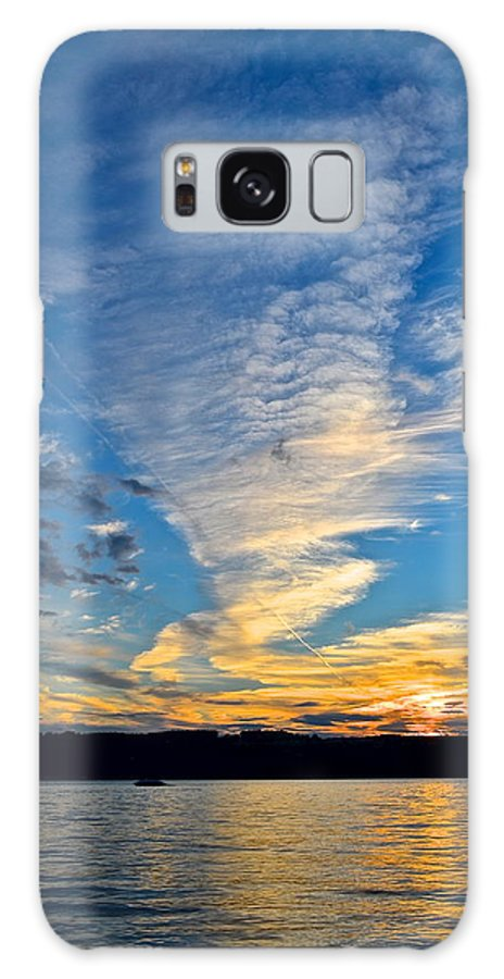 Sunset Galaxy S8 Case featuring the photograph Twister Cloud by Frozen in Time Fine Art Photography