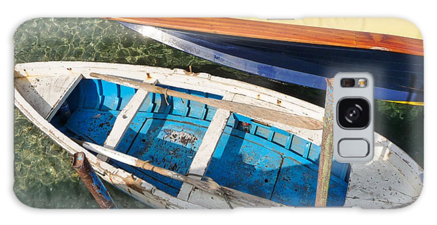 Mike Ste. Marie Galaxy S8 Case featuring the photograph Two Boats by Mike Ste Marie