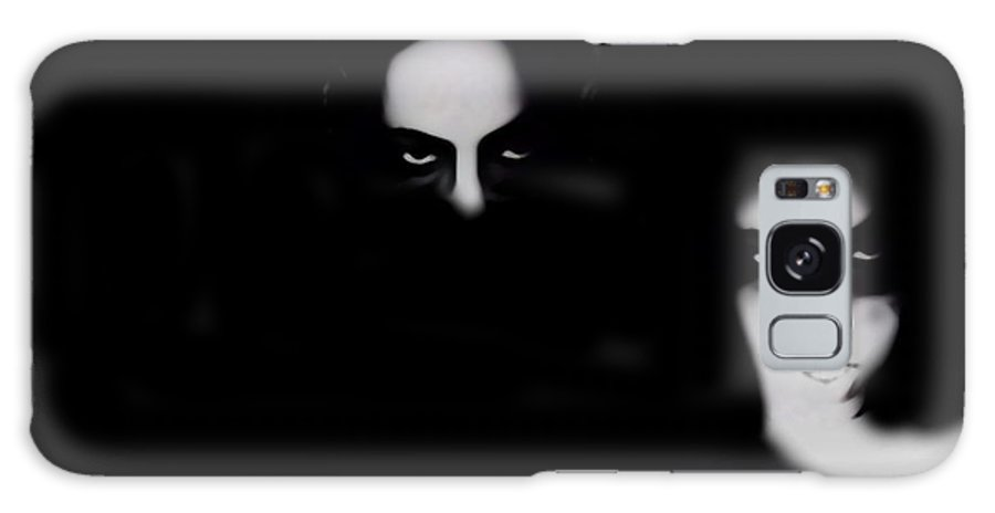 Black And White Galaxy S8 Case featuring the photograph Two Shades Of Wicked by Jessica Shelton
