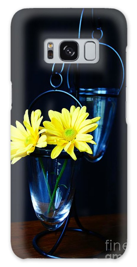 Flower Galaxy S8 Case featuring the photograph Two Yellow Daisies by Kerri Mortenson