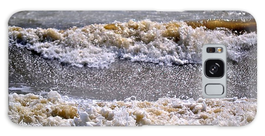 Tybee Island Galaxy S8 Case featuring the photograph Tybee Waves by Tara Potts