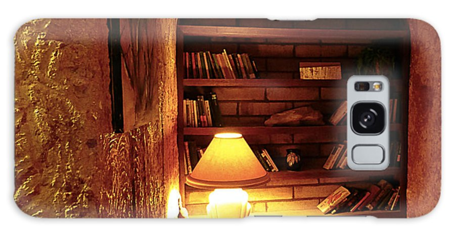 Under Ground Book Shelf Galaxy S8 Case featuring the photograph Under Ground Book Shelf by Girish J