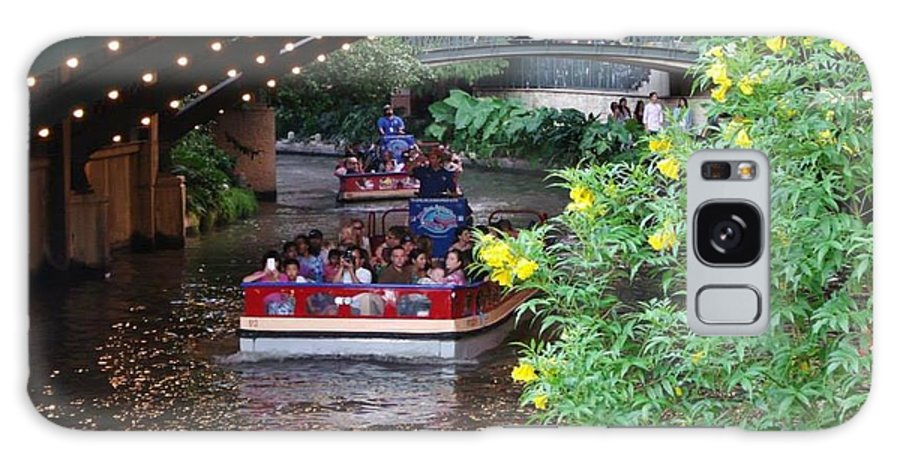 Riverwalk Galaxy S8 Case featuring the photograph Under The Lights by Laura Copeland