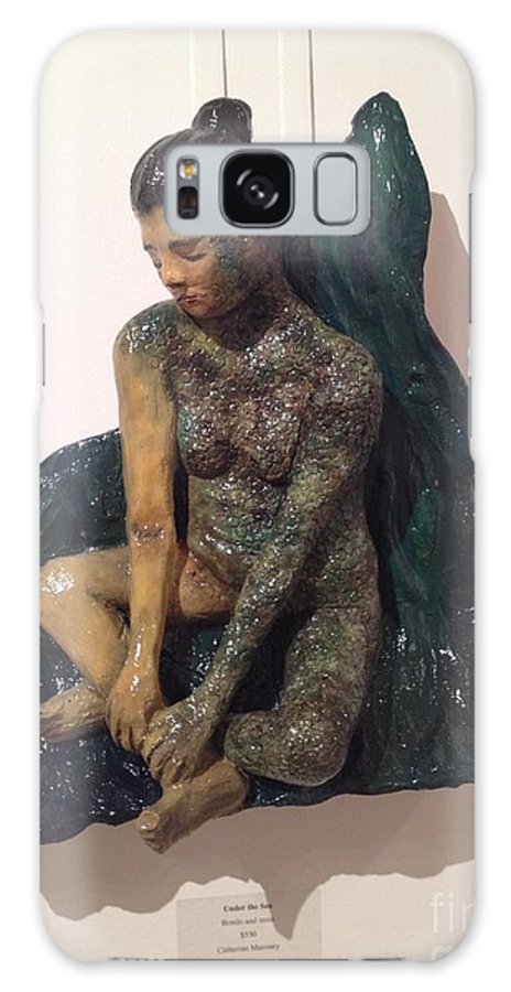 Sculpture Galaxy S8 Case featuring the relief Under The Sea by Catherine Maroney