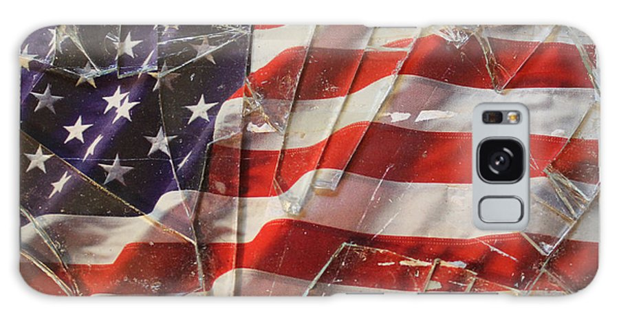 Patriot Galaxy S8 Case featuring the photograph United We Stood by Nathanael Verrill