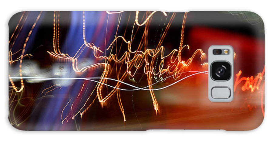 Light Painting Photography Galaxy S8 Case featuring the photograph Unrehearsed by Melissa Pleasant