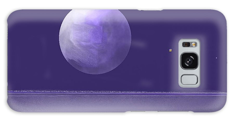 Fine Art Galaxy S8 Case featuring the painting Untitled 294 by Nedunseralathan R