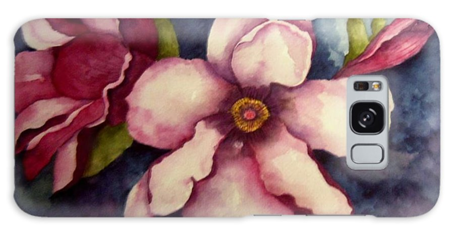 Floral Galaxy S8 Case featuring the painting Untitled by Anne Olivier