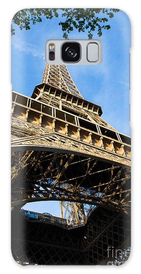 City Galaxy S8 Case featuring the photograph Up The Eiffel Tower 1 by Dan Hartford