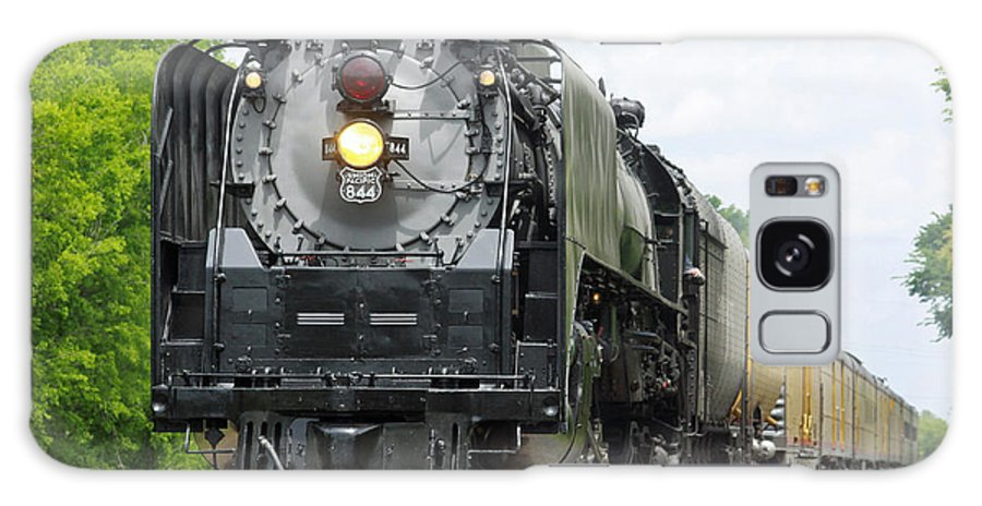 Steam Engine Galaxy S8 Case featuring the photograph Up844 by Ronnie Prcin