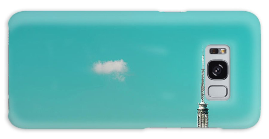 Outdoors Galaxy Case featuring the photograph Usa, New York City, Empire State by Tetra Images