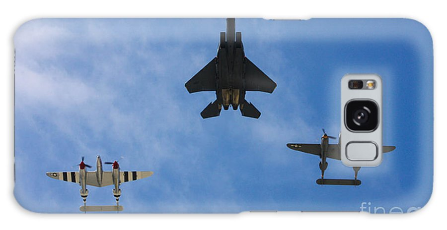 Usaf Galaxy S8 Case featuring the photograph Usaf Heritage Flight by Tommy Anderson